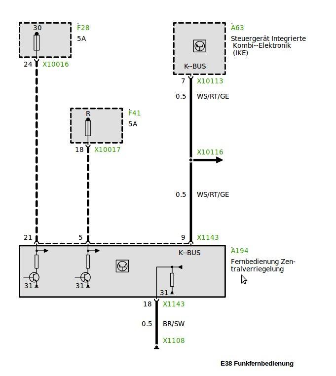 Atemberaubend E38 Schaltplan Ideen - Der Schaltplan - rewardsngifts.info